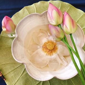 韓国伝統茶芸「蓮の花茶」自宅からお披露目します!