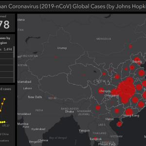 ツイートからCOVID-19感染広がり状況を確認