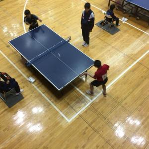 第12回オホーツク中学校新人卓球大会(シングルス編)