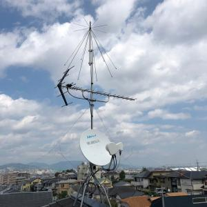 4K8K対応BSCSアンテナ調整 兵庫県宝塚市仁川月見ヶ丘