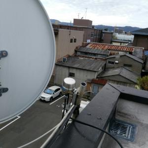 3階アンテナ撤去 京都市中京区西ノ京永本町