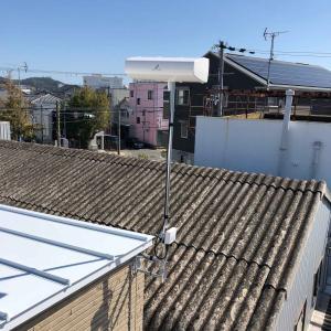 新築デザインアンテナ工事 和歌山県和歌山市新留丁