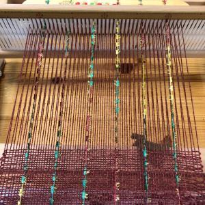 学びの日  手織り教室
