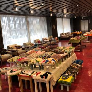 手織り教室作品展