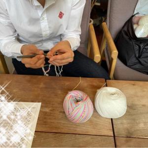 少人数編み物レッスン  茨木