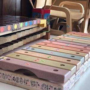 アンサンブルでも大活躍な 虹色木琴