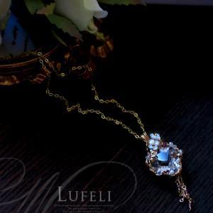 もっと自由に、もっと楽しく、自分を輝かせるヴィジョンを込めて制作する水晶ペンダント