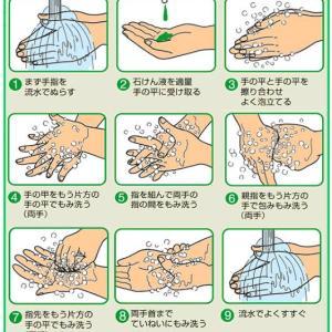 新型コロナの予防法 正しい手洗い&マスクの付け方