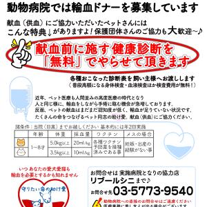 供血ドナー 登録のお願い