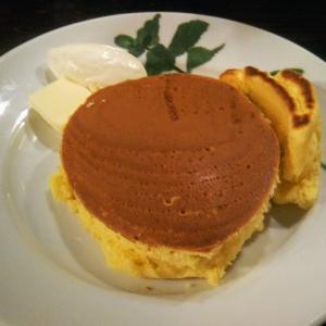カフェ香咲 ホットケーキと焼きりんご