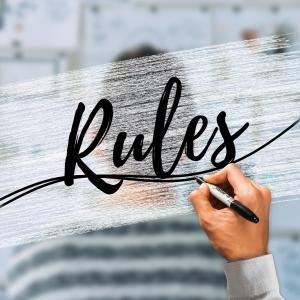 ルールを守る