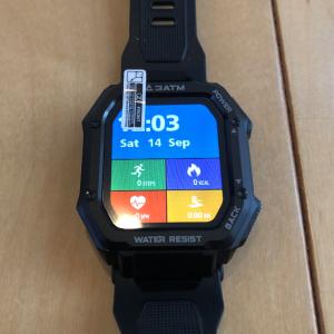 【開封の儀】スマートウォッチ「KOSPET ROCK」タフネスな腕時計!
