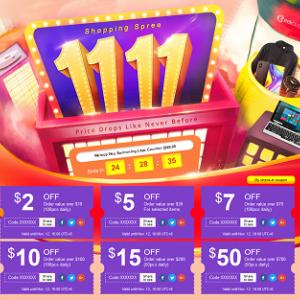 GeekBuyingの『11月11日大セール』ではスマホやノートパソコンが安い!最大70%OFF!