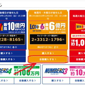楽天銀行でロト6を自動購入してみた!ロト予想.comの予想と合わせて当てに行くぞ!
