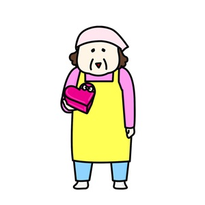 佐藤ママの気分で、母が娘のバレンタインデーチョコを作る。