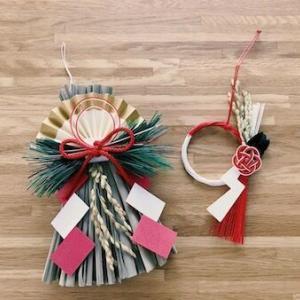 お正月準備とクリスマス雑貨の片付け