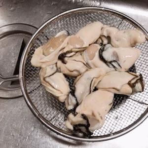 大粒な牡蠣 & お買い物レポ