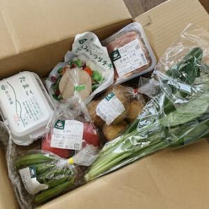 無農薬野菜と鶏肉のセットをお取り寄せ