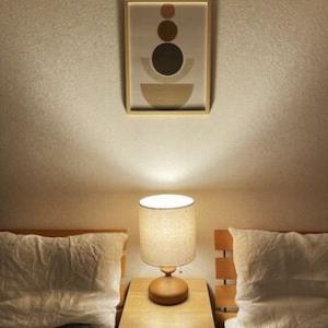 寝室の模様替えと北欧アートポスター