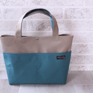 100色からお好きな色を選べるバッグ♪  帆布トート