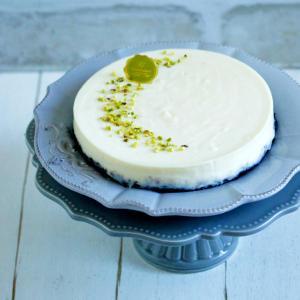 * ホワイトチョコのレアチーズケーキ♪サ