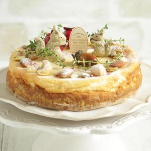 * 木の実のチーズケーキ♪