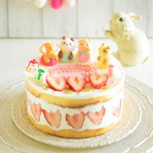 * アニマル・バースデーケーキを作ってみました~♪