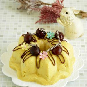 * 秋のスイートポテトケーキと素敵な時計♪