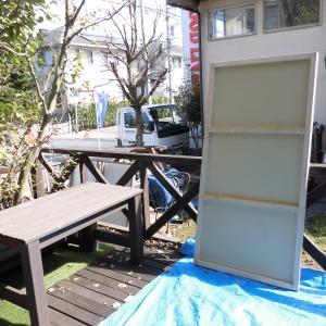 メソポア珪藻土の壁塗り体験会
