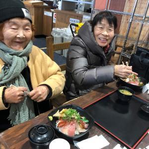 備前海の駅で海鮮料理♪