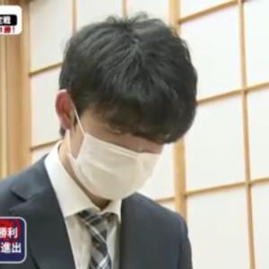 第61期王位戦挑戦者決定リーグ白組5回戦  阿部健治郎七段 vs 藤井聡太七段 終局