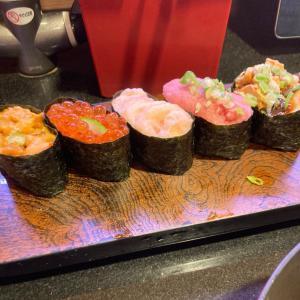 お寿司大好き!回し寿司活ランチ。