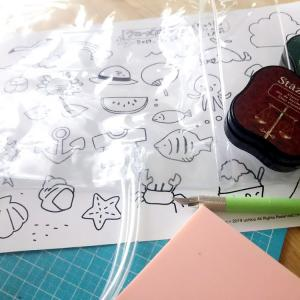 PVCバッグをお気に入りのイラストでカスタマイズ!!