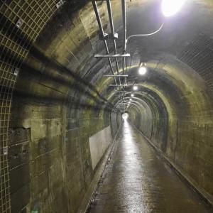 トンネルの中は涼しくて気持ち良かった件