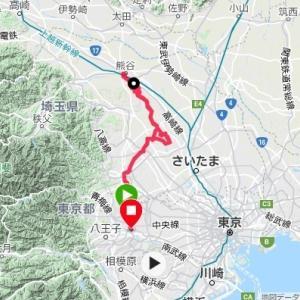 群馬まで行けず熊谷で折り返してきた158kmの件