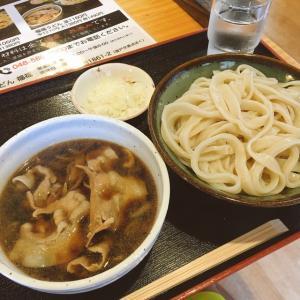 熊谷でうどんを食べて利根川渡り