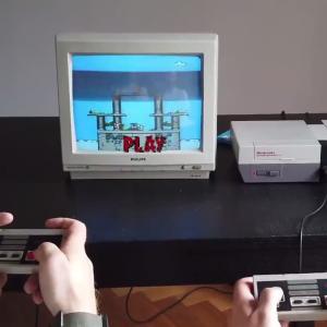 Wi-Fi搭載カセットで通信対戦できるスマブラ風NESゲームが登場!! 他