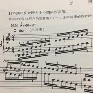 PIANO Lesson 26 シベリウス 樅の木②、ハノン、インヴェンション1番