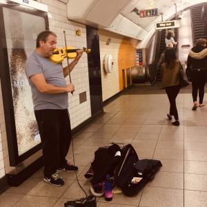 バイオリンは日常