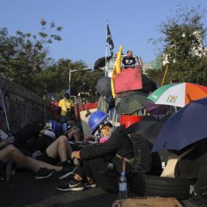 お手伝いさんも辛い!? 香港デモの日常