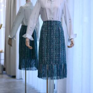 ツイードのスカート