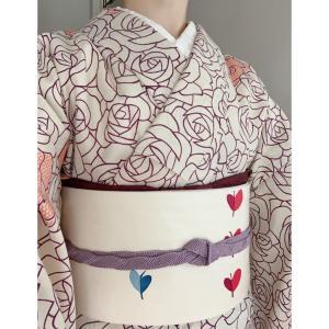 【着物コーデ】小紋と名古屋帯でしっとり♪