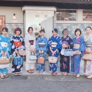 大津の着物屋さんkimonotentoさんへ!【浴衣でお出かけ】