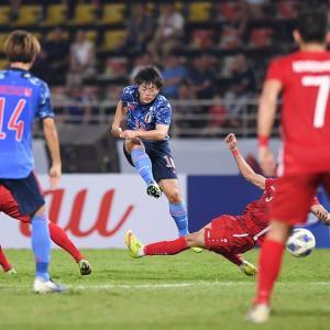 【悲報】U-23日本代表、シリアに敗れGL敗退決定!(五輪には出場)AFC U-23選手権