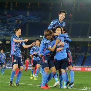 【動画】日本、韓国代表に3ゴール奪い快勝!代表デビューの山根が初ゴール、鎌田と遠藤が追加点