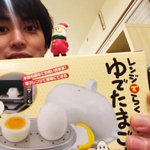 ゆで卵を電子レンジで!?