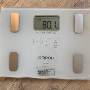 年明けからの体重の変化ー津田沼の加圧スタジオビーホリック