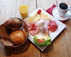 ドイツの典型的朝食