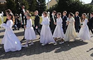 Kommunion - 初聖体の儀式-