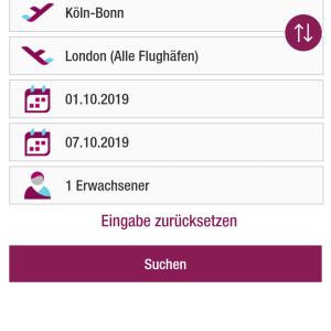 Eurowings ユーロウィングスの場合